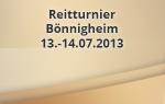 Reitturnier Bönnigheim 2013