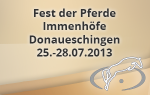 Fest der Pferde - Donaueschingen-Immenhöfe