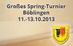 Großes Spring Turnier Böblingen 2013