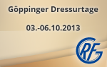 Göppinger Dressurtage 2013