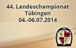 Landeschampionat Tübingen 2014